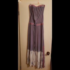 Women's GYPSY 05 Strapless Maxi Dress